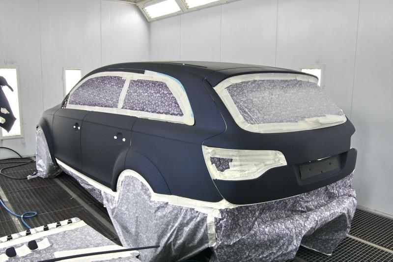 Полная окраска авто в москве цены